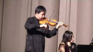 Ning Feng plays Hora Staccato