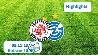 Highlights: Fc Winterthur Vs Grasshopper Club Zürich (08.11.19)