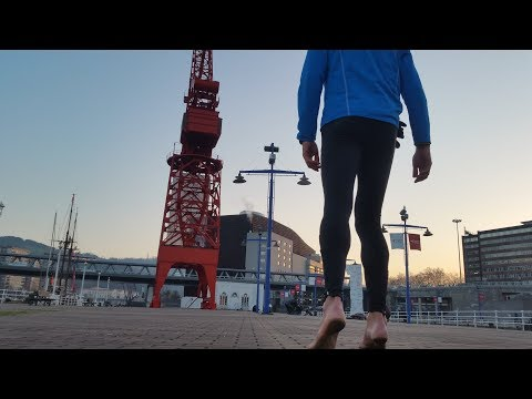 100 consejos para correr descalzo. Circuitos. La ciudad.