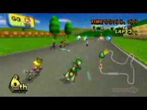 mario kart wii yoshi gameplay youtube. Black Bedroom Furniture Sets. Home Design Ideas