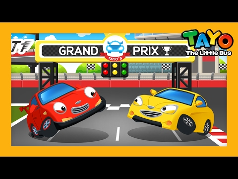 Racing l English Game #4 l Learn Street Vehicles l Tayo the Little Bus