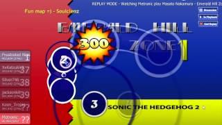 Play Osu! - Masato Nakamura - Emerald Hill Zone (Sonic The Hedgehog 2 )