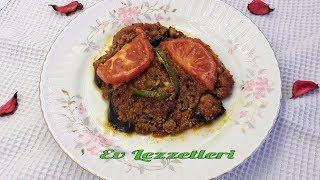 Fırında patlıcan musakka tarifi - İftar için kızartmadan patlıcan oturtma tarifi- Ev Lezzetleri