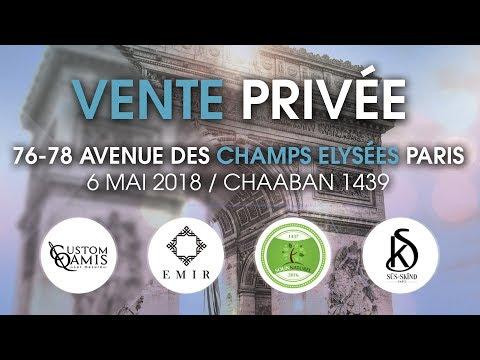 Vente privée Exclusive sur les Champs-Elysées à Paris