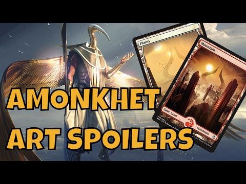 AMONKHET SPOILER THOUGHTS - Two Color Planeswalkers and the Return of Hybrid Mana?! WILD SPECULATION
