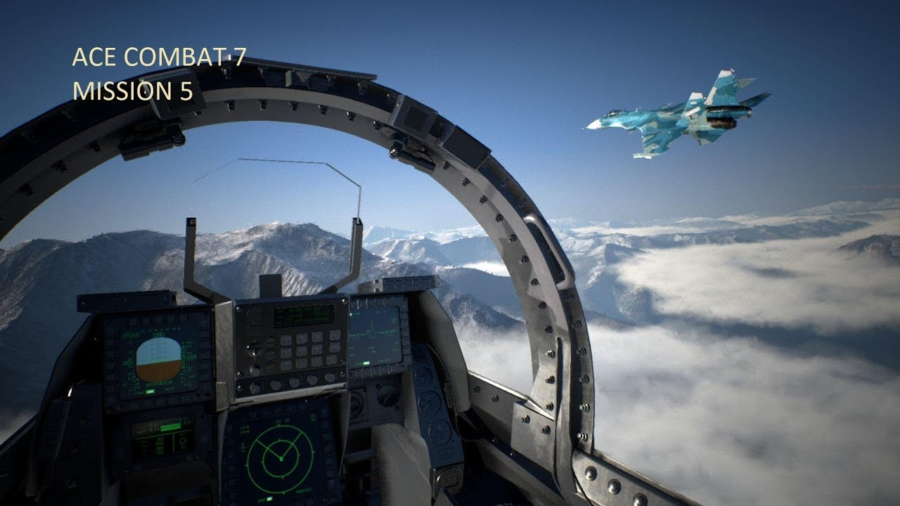 MISSION 5 - ACE COMBAT™ 7: SKIES UNKNOWN