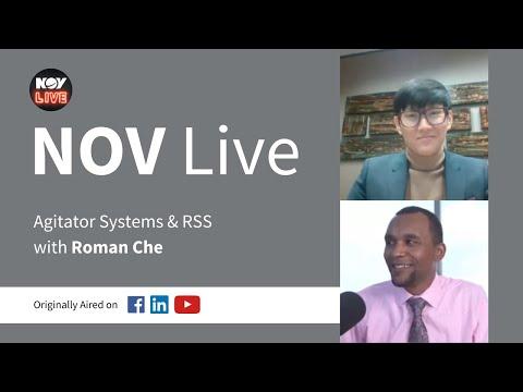 NOV Live | Agitator Systems & RSS