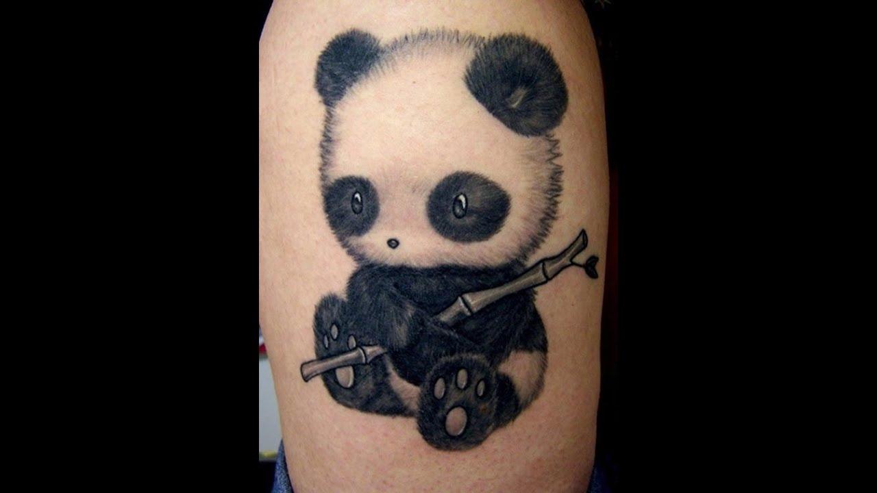 Tatuajes De Osos Pandas Ideas Para Tu Tatuaje Youtube