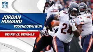 Jordan Howard Finishes Off Chicago's Drive w/ Big TD Run!   Bears vs. Bengals   NFL Wk 14 Highlights