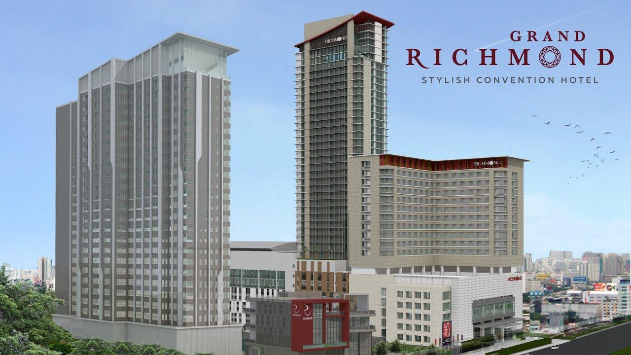 Grand Richmond Stylish Convention Hotel Youtube