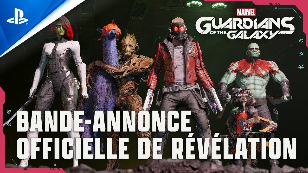 Download Marvel's Guardians of the Galaxy   Bande-annonce de révélation   PS5, PS4