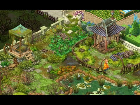 Captivating GARDENSCAPES NEW ACRES Gameplay Story Playthrough | Area 6 Waterfall Day 5  Area Restored