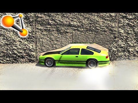 Nearly Impossible Car Stunts #1 - BeamNG Drive