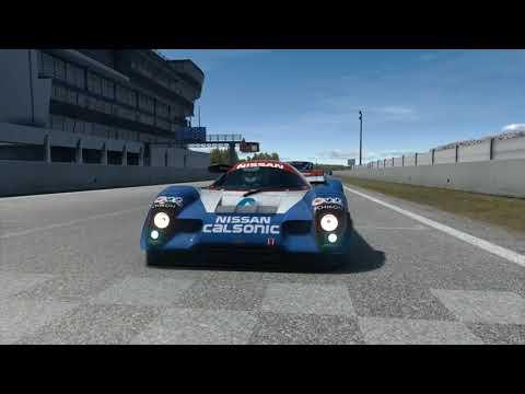 Nissan R91CP 91' At Le Mans 1991 - Assetto Corsa |