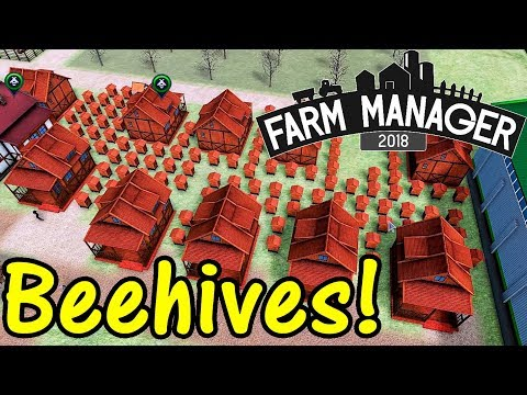 Let's Play Farm Manager 2018 #24: Industrial Beekeeping!