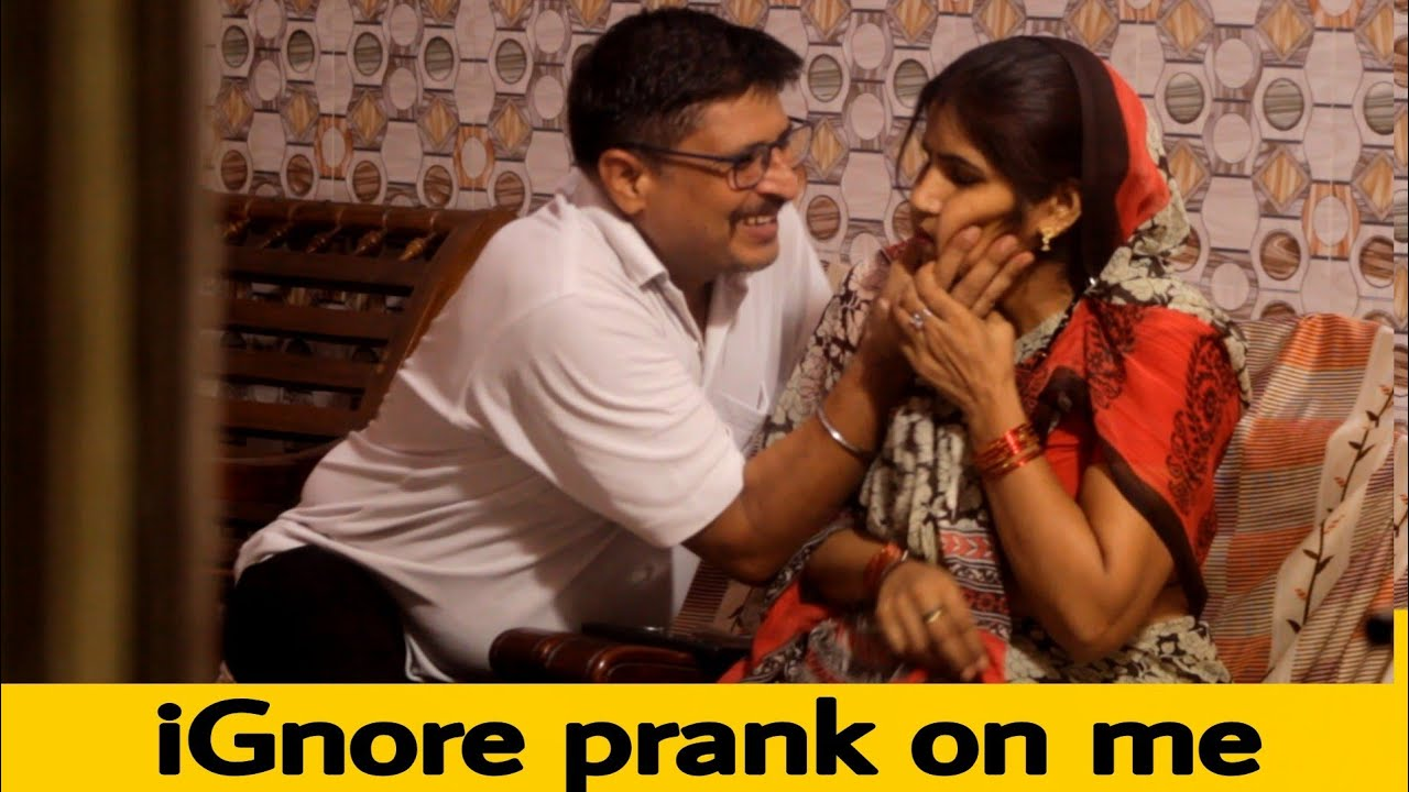 ignoring prank on me | uncle jii ke pranks
