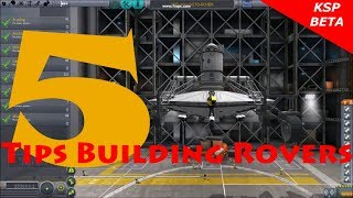 Kerbal Space Program 5 Tips Building Rovers