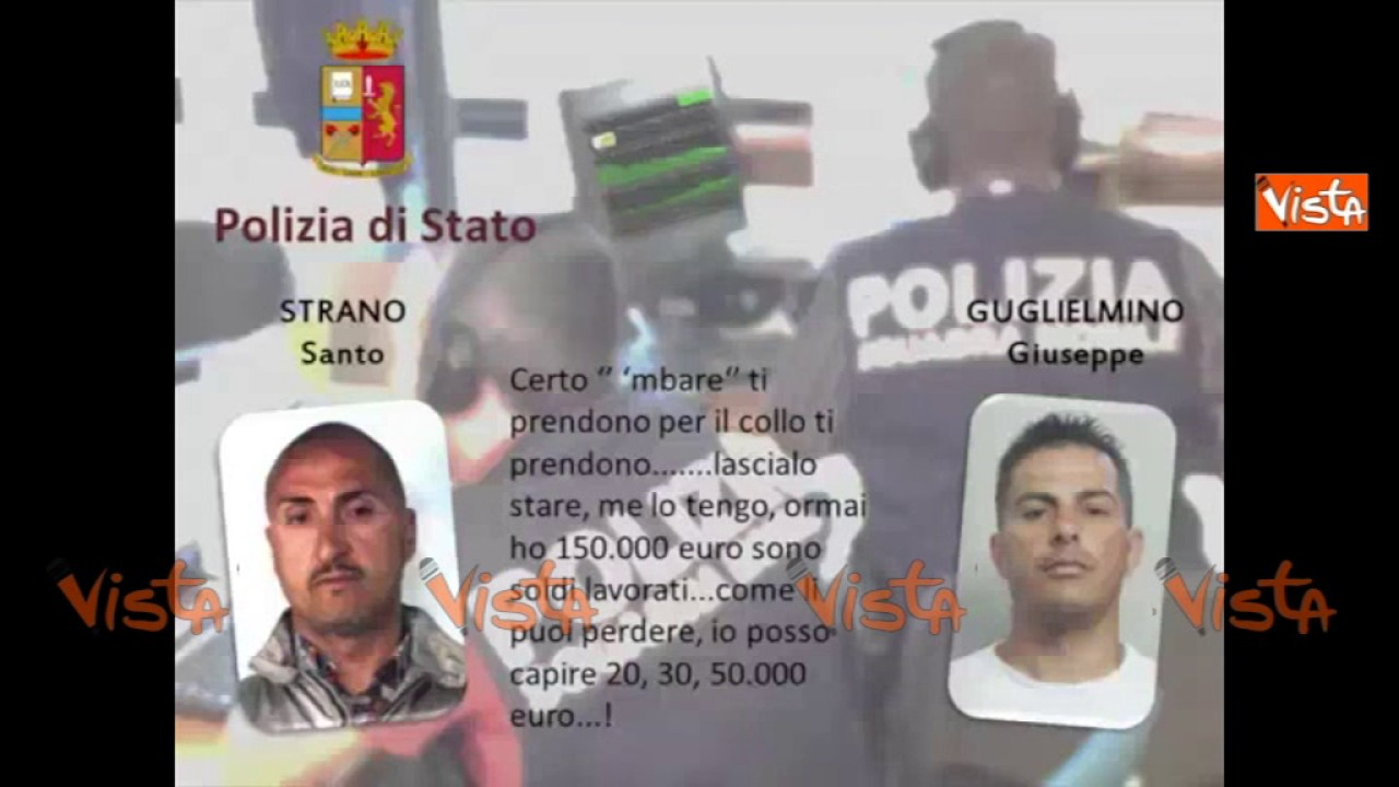 Maxi-operazione contro la mafia a Catania, ecco le ...