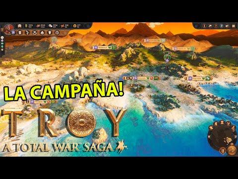 Total War Saga: TROYA | La CAMPAÑA de Total War TROYA es INCREÍBLE ! - Gameplay en Exclusiva
