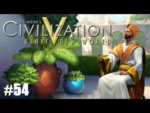 "Civilization 5 Brave New World LP - Immortal Arabia - #54 ""Tech Theft""- Celtic Gamer"