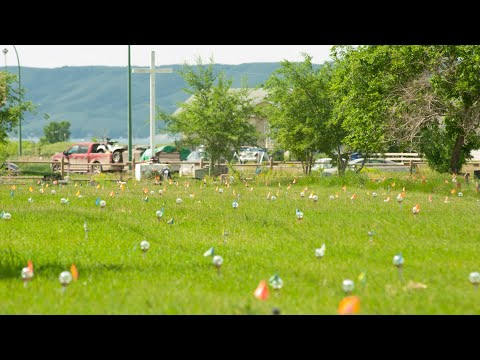 751 lights mark unmarked graves at Cowessess First Nation in Sask.