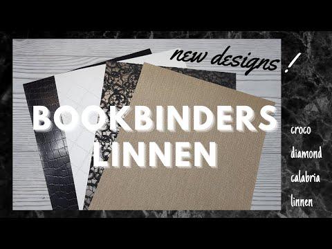Bookbinders Linnen  Back In Stock And New Designs  Bookcloth Croco  Calabria  Linnen  Diamond
