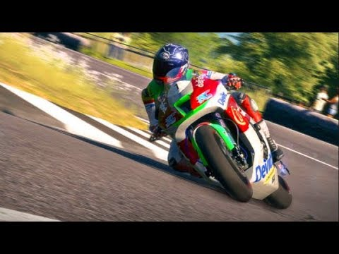"TT Isle Of Man PC ""NEW"" HARDEST Yet FUNNEST Game on TWO Wheels"