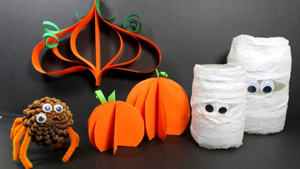 Elegant DIY Halloween Crafts | Halloween Craft Ideas You Can Make At Home