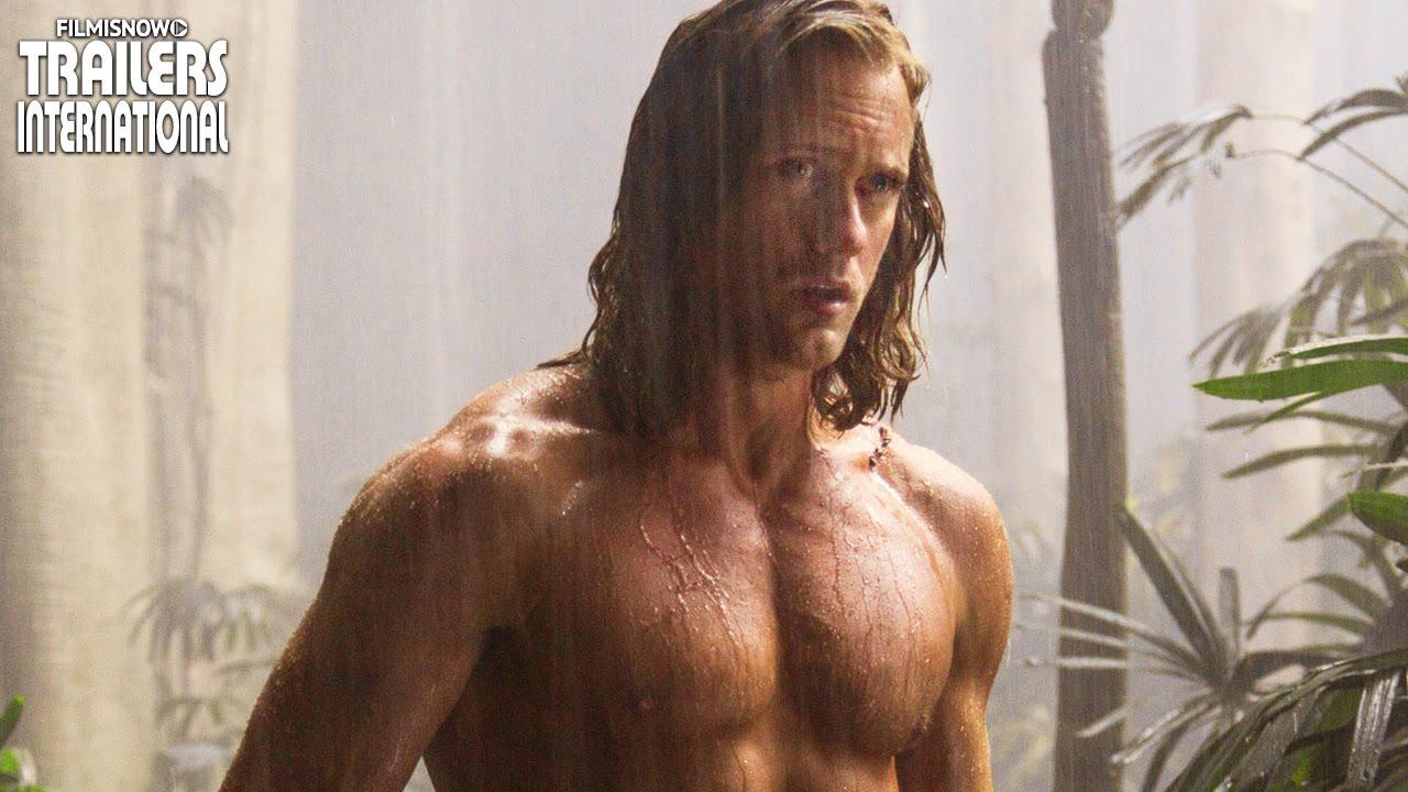 Alexander Skarsgård é a estrela de A Lenda de Tarzan | Trailer #2 Legendado [HD]