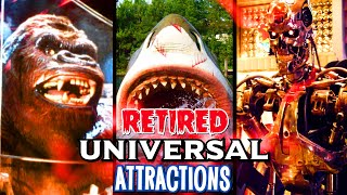 Top Retired Universal Studios Attractions