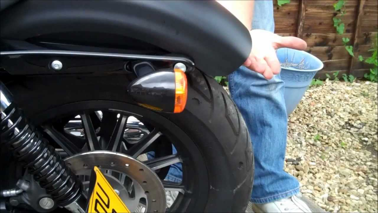 Project Iron Side Mount Licence Plate Part 5 Youtube