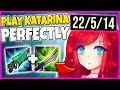 HOW TO PLAY KATARINA PERFECTLY IN SEASON 10 (LITERAL STOMP) - League of Legends
