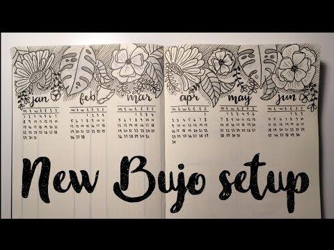 NEW BuJo SetUp for 2018 // PLAN WITH ME