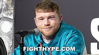 CANELO MESSAGE TO BILLY JOE SAUNDERS AFTER BREAKING FACE & STOPPING HIM; PRESSES CALEB PLANT