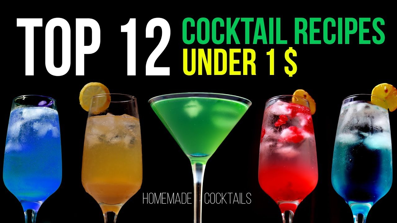 Top 12 Popular Cocktail Recipes Under 1 Wow Recipes