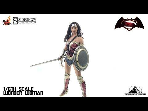 Optibotimus Reviews: Hot Toys Batman Vs Superman WONDER WOMAN