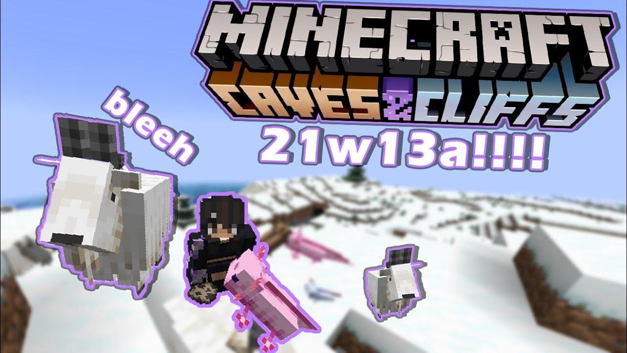 Dumb Ways To Die in Minecraft 1.17 Update | 21w13a snapshot