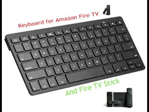 Kodi Xbmc Amazon Fire Tv Stick Bluetooth Keyboard Youtube