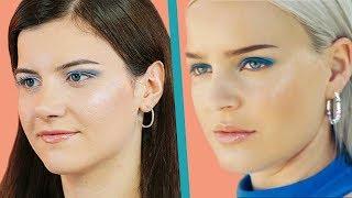 Anne-Marie Don't Leave Me Alone Klip Makyajı | Mavi Far 🤩