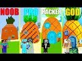 MINECRAFT BATTLE: NOOB vs PRO vs HACKER vs GOD: SPONGEBOB HOUSE CHALLENGE in MINECRAFT (Animation)