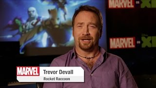 Trevor Devall Interview - Marvel's Guardians of the Galaxy