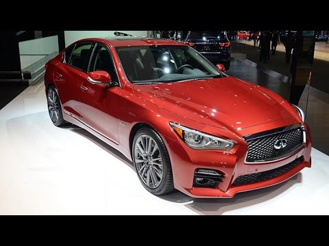 Live Pic : 2016 Infiniti Q50 Compact Executive Sedan at Detroit Motor Show
