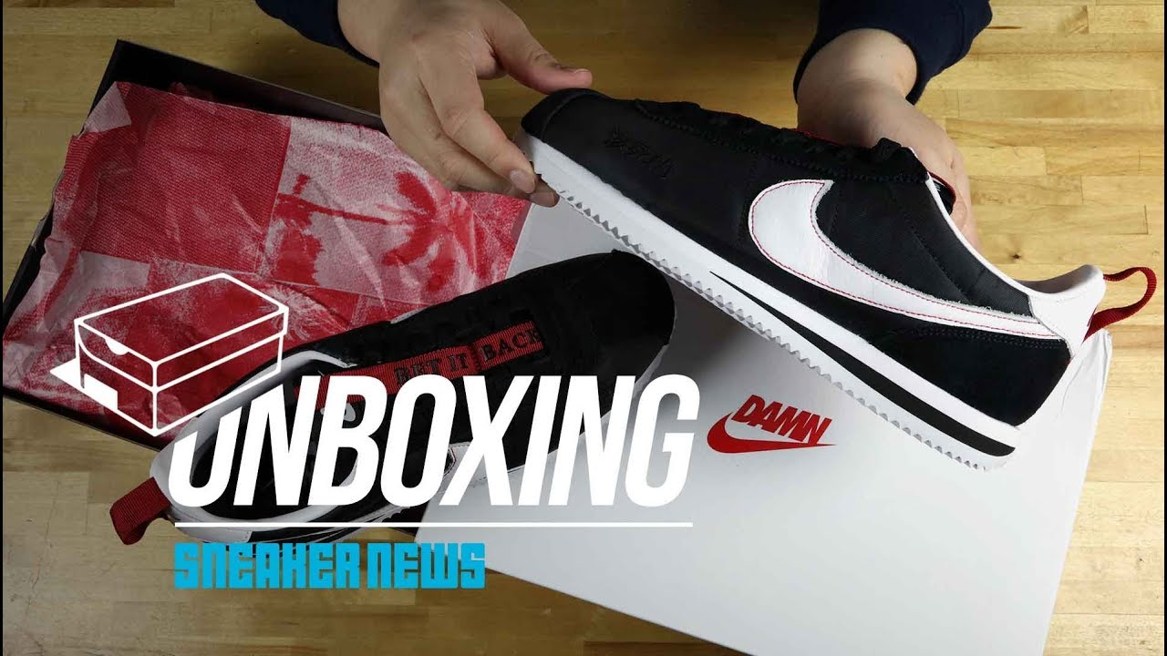 983f4cce Unboxing The Kendrick Lamar Nike Cortez Kenny III - YouTube