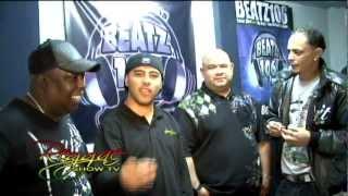 DJ ACON Y MARTIN SCOTH EN REGGAE SHOW TV