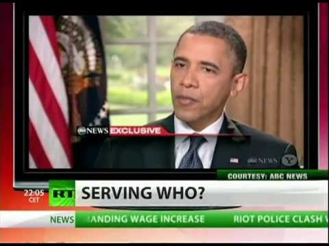Dr. Leon on RT TV Topic: Obama A Black President? Not Really