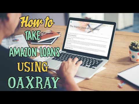Taking Amazon Loans for amazon fba sourcing using Oaxray for online arbitrage  for fba