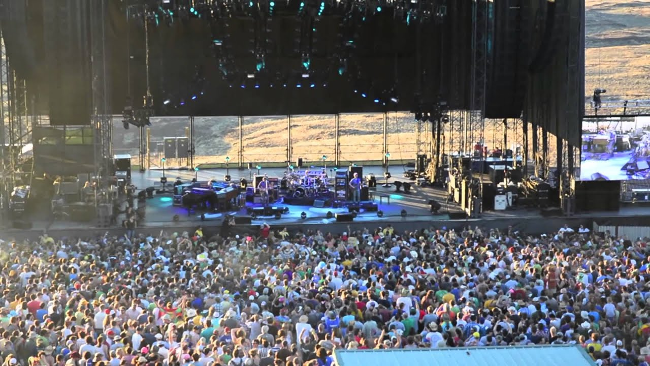 25070eb283fe Travels   Adventures -- Phish   The Gorge -- July 26th   27th