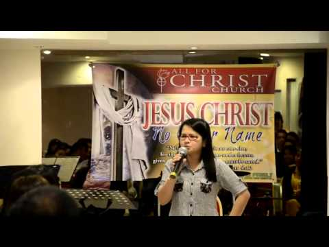 Perfect Faith - All for Christ Church Abu Dhabi PREACH Ministry 27/9/2013