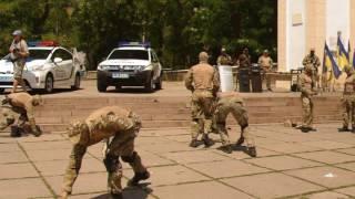 День полиции в Херсоне. 2