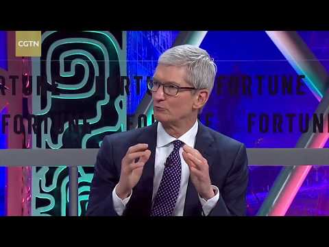 Tim Cook: China's No  1 attraction is quality of people